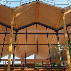 Timberrr - NLT panels at the new DC Public Library, by Perkins Eastman w StructureCraft