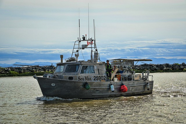 SEA MAX, Fishing Vessel - Steveston Harbour