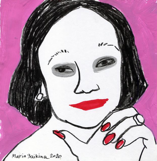 Maria Zaikina, Silver eyes, 2020