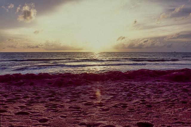 Sunset at Bang Tao beach