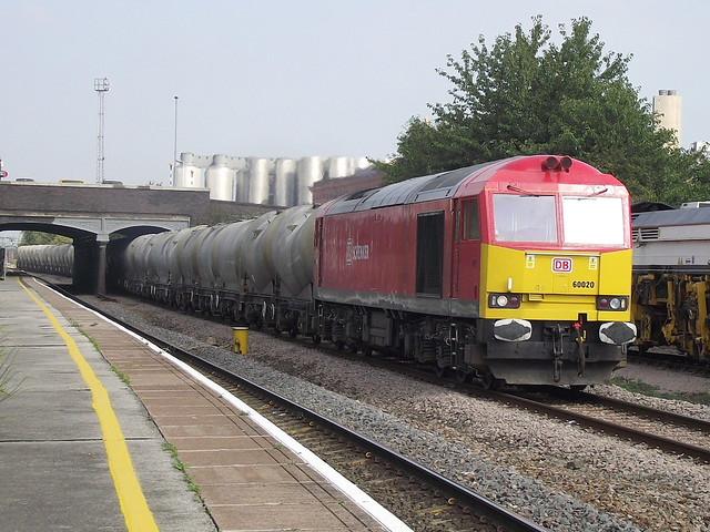 60020 at burton on trent