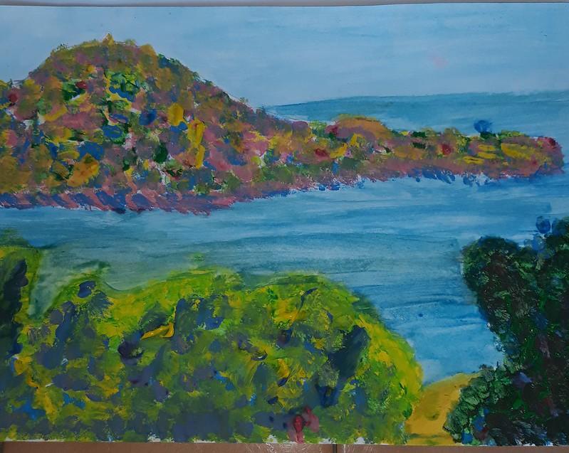 Isabel Pons ( Landscape near Montecarlo )