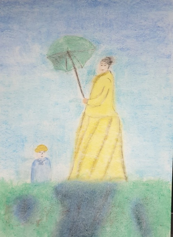 David Carretero ( Senyora amb paraigües )