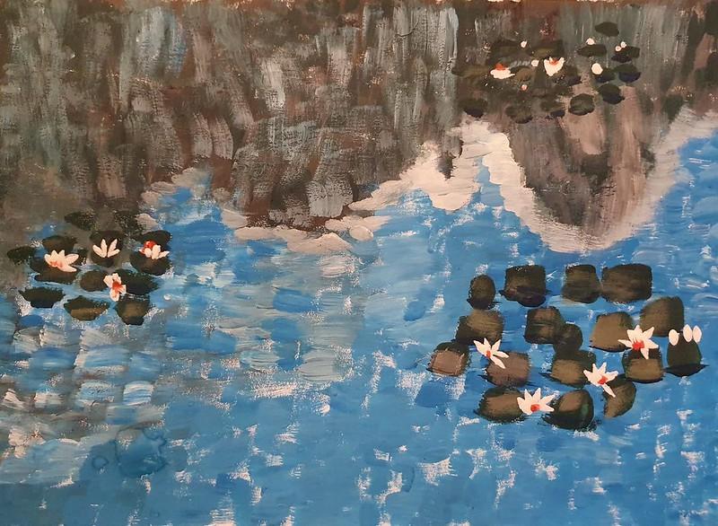 Aitor Sánchez ( El jardí de Monet a Giverny)