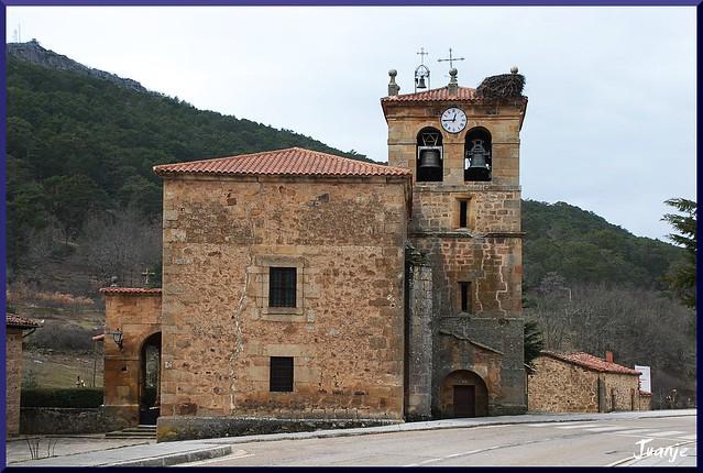 Iglesia de Salduero (Castilla y León, España, 18-3-2010)