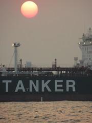 Oil tanker on the South China Sea - asha