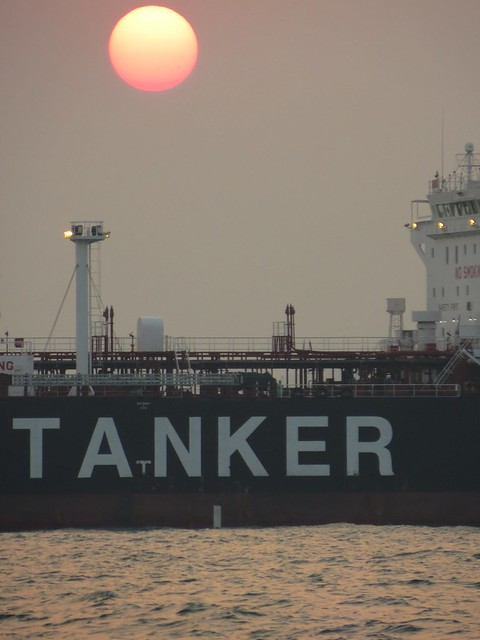 Oil tanker on the South China Sea - asha