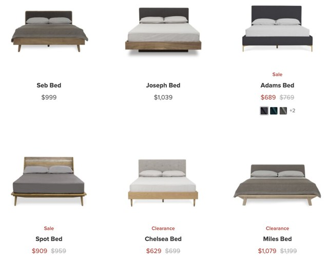 castlery king sized beds