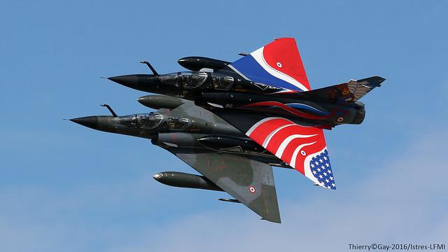 French Air Force Dassault MIrage 2000N 125-CQ /370/ 125-AM  Ramex Delta Team