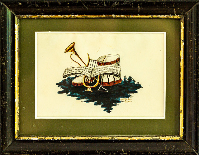 Old watercolour painting - 6M7A9739