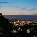 Yokohama Port Night View from Harbor View Park : 港の見える丘公園より横浜港夜景を展望