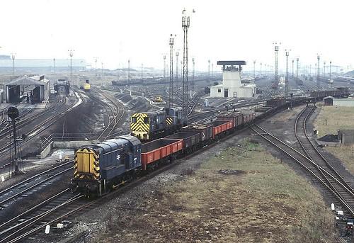 tinsly marshallingyard sheffield 1980s