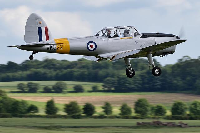 DHC-1 Chipmunk 22 In genuine RAF markings as WK522 G-BCOU
