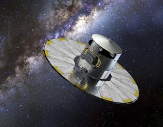 VCSE - Az Európai Űrűgynökség Gaia műholdja - Forrás: ESA, Wikipedia