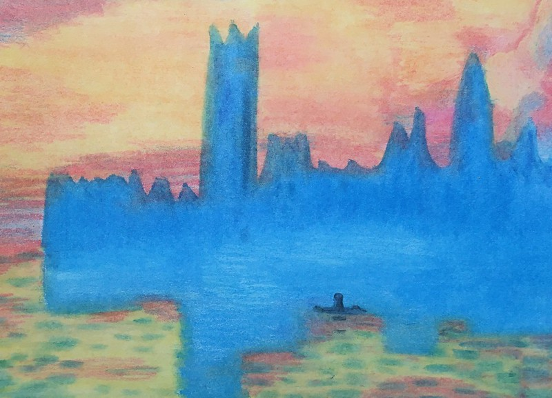 Cristina Roca ( The Houses of Parliament, Sunset )