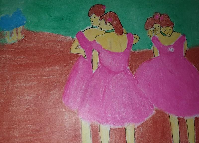 Arantxa Clavijo ( Ballarines de rosa )