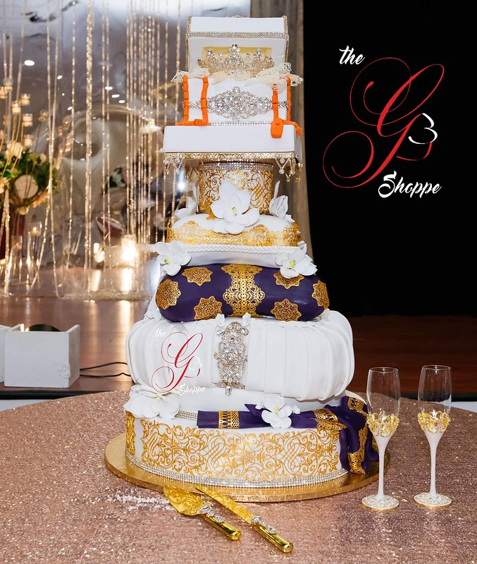 Cake by The G Shoppe Custom Cakes, LLC