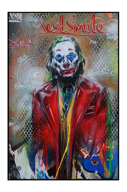 JOKER STREET ART by PAUL 'DON' SMITH