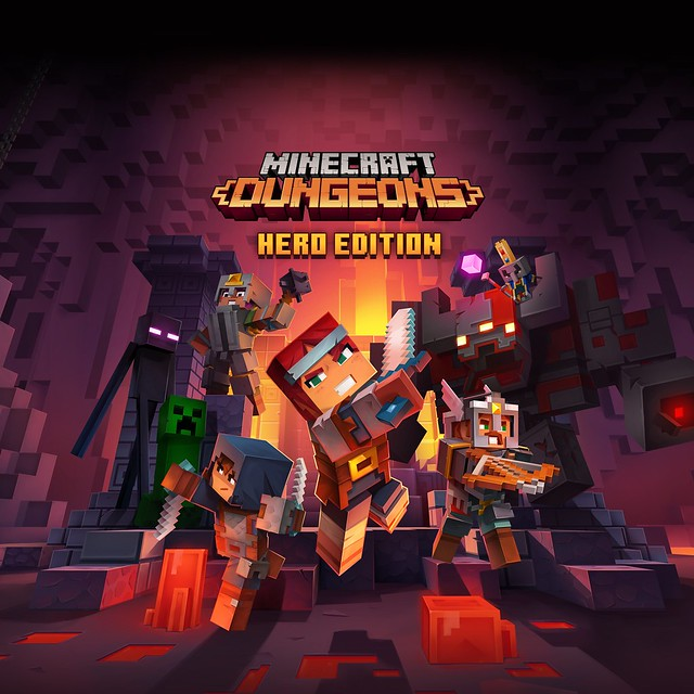 Thumbnail of Minecraft Dungeons Hero Edition on PS4