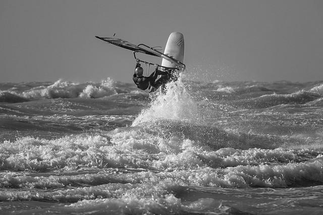 Stubby Surfer - in B&W