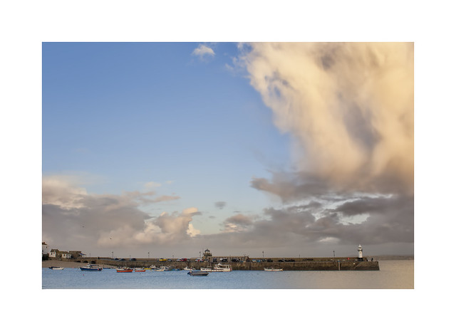Even sleepy St Ives can be have extreme weather conditions now and again..