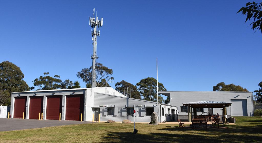 Ku-Ring-Gai Bush Fire Brigade, North Wahroonga, Sydney, NSW.