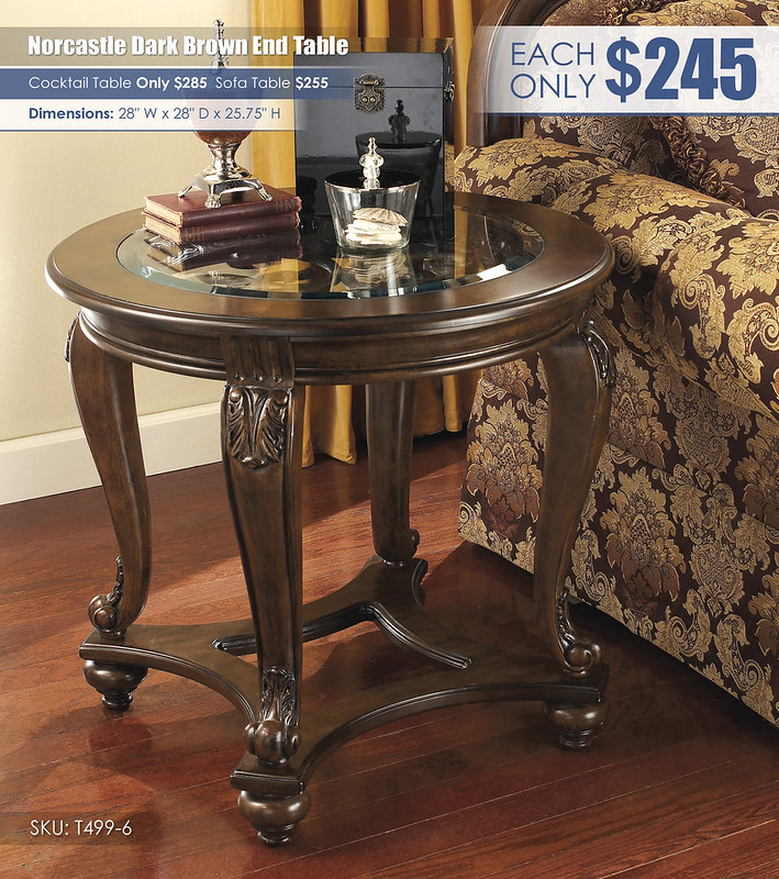 Norcastle End Table_T499-6