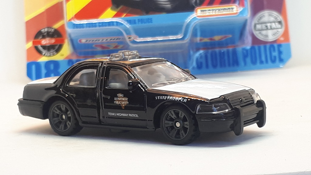 Matchbox 2006 Ford Crown Victoria No20 Texas Highway Patrol Car 1 64 A Photo On Flickriver