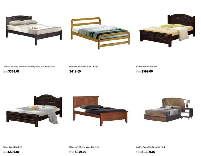 megafurniture king sized beds
