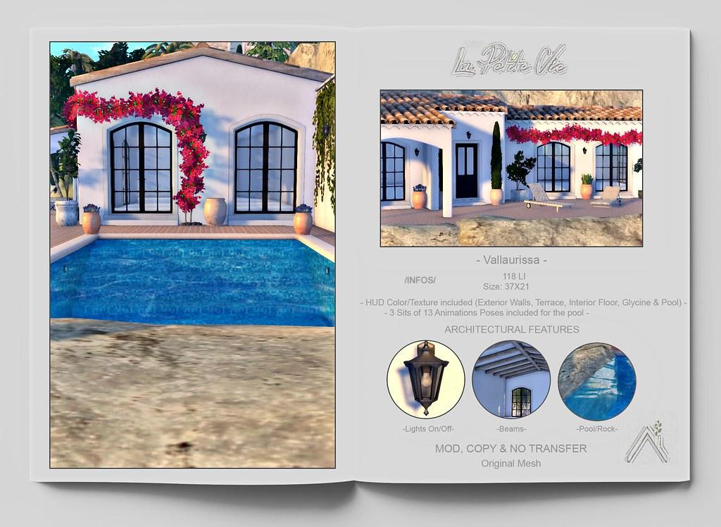 La Petite Vie – Villa – Vallaurissa