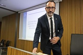 Compareixença M.I. Sr. Víctor Filloy davant la Comissió Legislativa d'Afers Socials i Igualtat. 26/05/2020