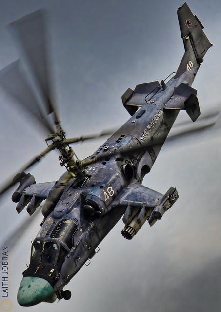 Ка-52 Аллигатор / Ka-52 Alligator / كاموف كا ٥٢ القاطور