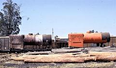Africa Railways - Caminho de Ferro de Benguela - CFB Nova Lisboa Workshops - the yard