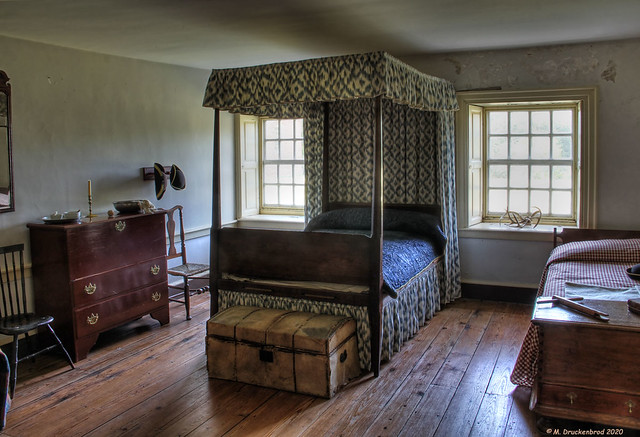 Children's Bedroom in the Great House at Stratford Hall