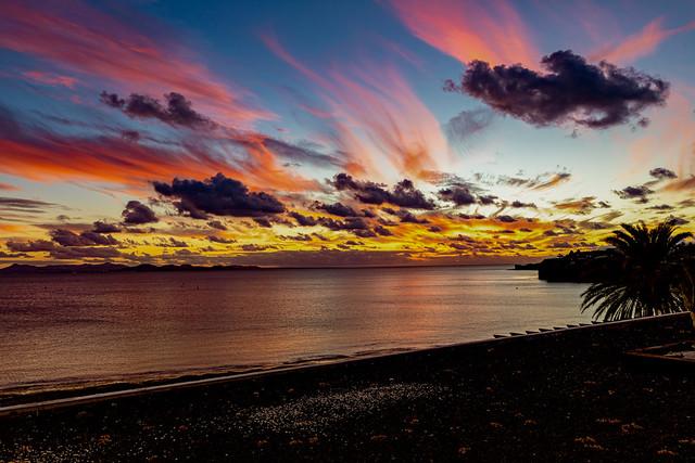 Sunset, Playa Blanca