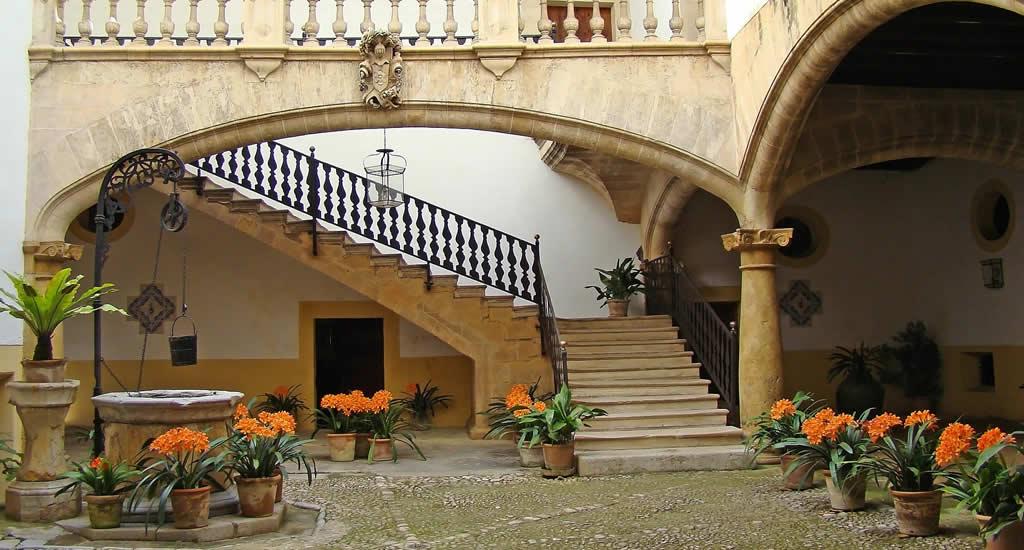 Binnentuinen van Palma de Mallorca | Mooistestedentrips.nl