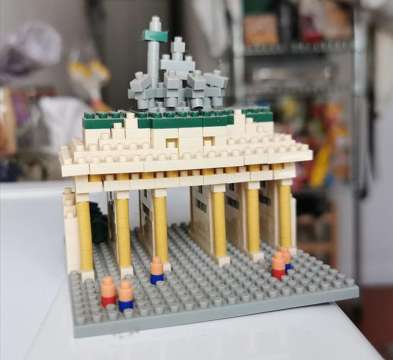 nanoblock Brandenburg Tor