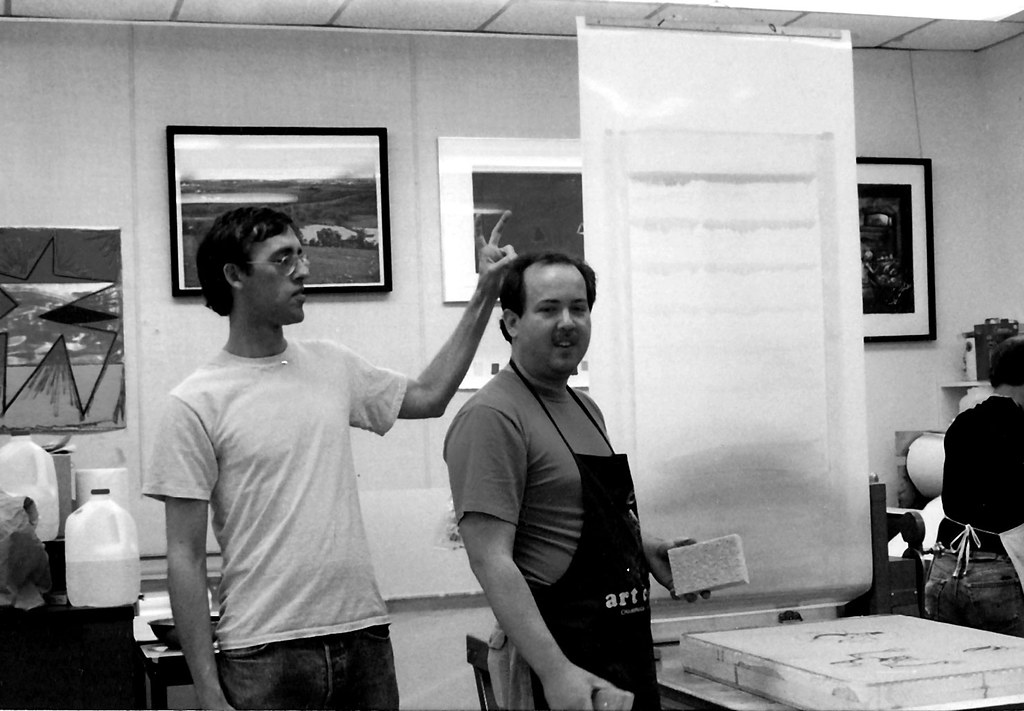 David Wojnarowicz at Normal Editions Workshop