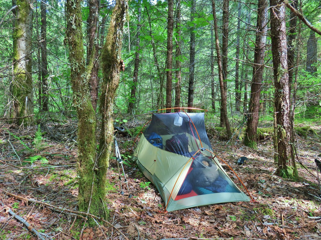 Campsite along the Middle Fork Trail