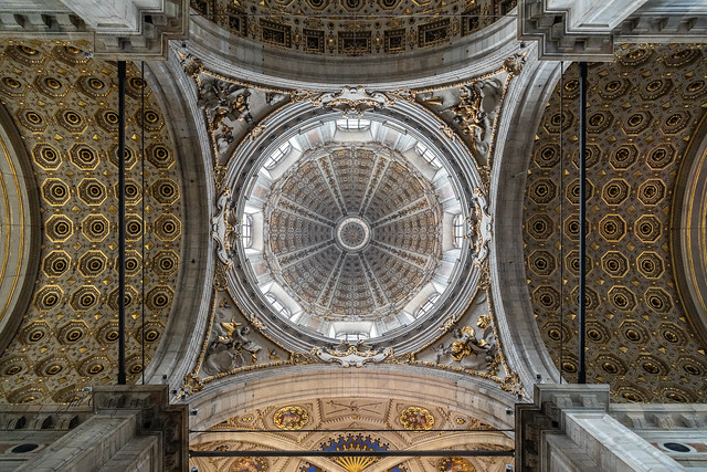 Armchair Traveling - The Dome of Como Cathedral, Italy