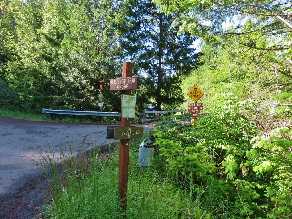 Middle Fork Trail at FR 2127