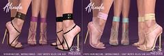 "Phedora for Fetish Fair - ""Alinda"" Heels ♥"