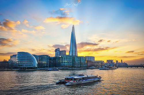 londres uk town hall london támesis shardlondonbridge river rio sunset atardecer landscape paisaje