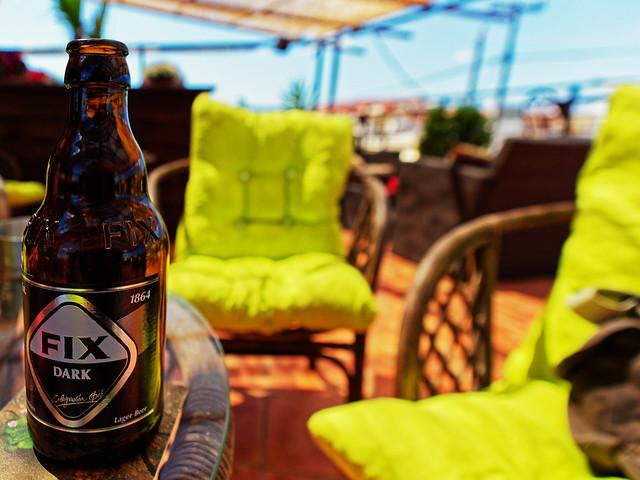 Bottle of Fix Dark ( Sakisfactioin Bar - Alykanas - Greece) Olympus OM-D EM1.2 & M.Zuiko 7-14mm f2.8 Wide Zoom