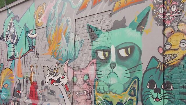 Bogota Zombie Cat Mural