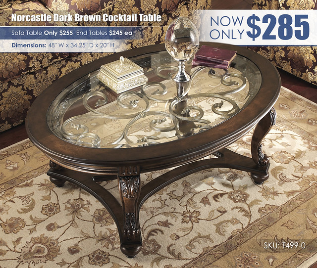Norcastle Cocktail Table_T499-0