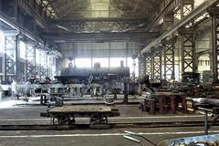 Africa Railways - Caminho de Ferro de Benguela - CFB Nova Lisboa (Huambo) Workshops