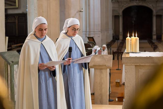 Ascension 2020 - Professions monastiques à Saint-Gervais