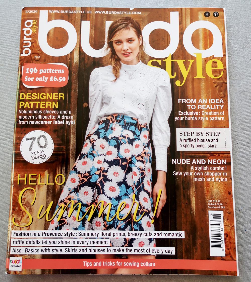 Burda 052020 magazine cover