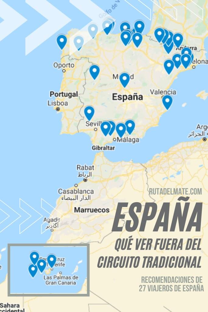 Qué ver en España fuera del circuito tradicional por 27 viajeros españoles
